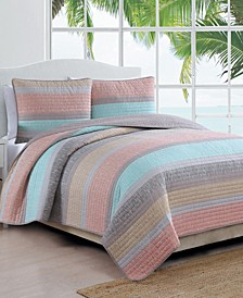 Estate Delray 3 Piece Quilt Set King