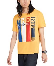 Tommy Hilfiger Denim Men's Vlad Logo Graphic T-Shirt