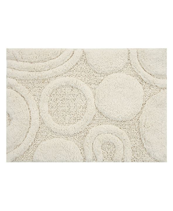 "Perthshire Platinum Collection Orbit 21""x 34"" Bath Rug"