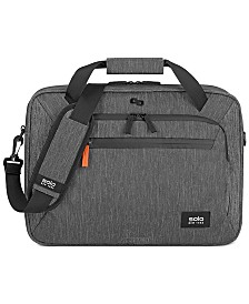 Solo Men's Storm Slim Briefcase