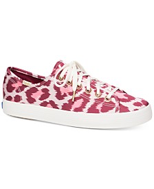 Keds for Kate Spade New York Champion Leopard Satin Sneakers