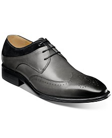 Stacy Adams Men's Hewlett Wingtip-Toe Oxfords