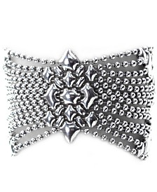 "SG Liquid Metal B Silver Mesh Bracelet in 7"", 7 1/2"" or 8"""