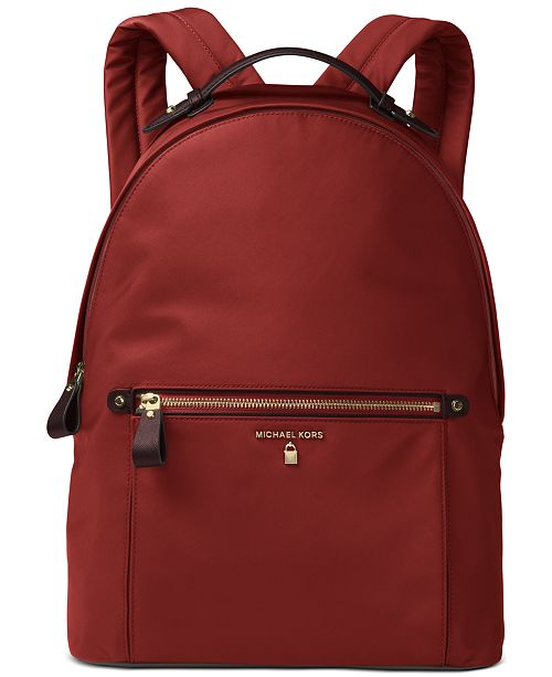 Michael Kors Kelsey Large Nylon Backpack