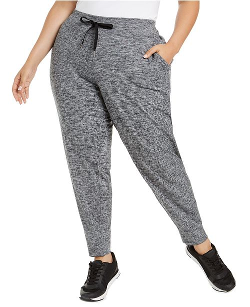 Calvin Klein Plus Size Pull-On Jogger Pants