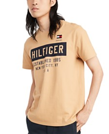 Tommy Hilfiger Denim Men's Commuter Logo Graphic T-Shirt