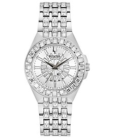 Bulova Women's Phantom Stainless Steel Bracelet Watch 32mm