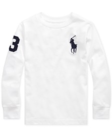 Polo Ralph Lauren Little Boys Jersey Cotton T-Shirt