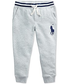 Little Boys Terry Cotton Joggers