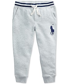 Polo Ralph Lauren Toddler Boys Terry Cotton Joggers
