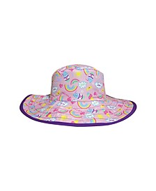 Toddler Girls Reversible Bucket Hat