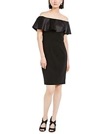 Ruffled Bodycon Dress