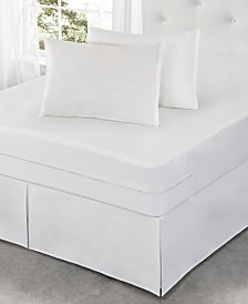 Fresh Ideas Cotton Rich Mattress Protector with Bed Bug Blocker