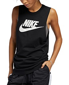 Nike Sportswear Essential Cotton Logo Tank Top