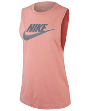 b41fa98b1fc Sportswear Essential Cotton Logo Tank Top in Pink Quartz