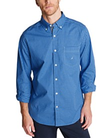 Nautica Men's Color Gingham Shirt