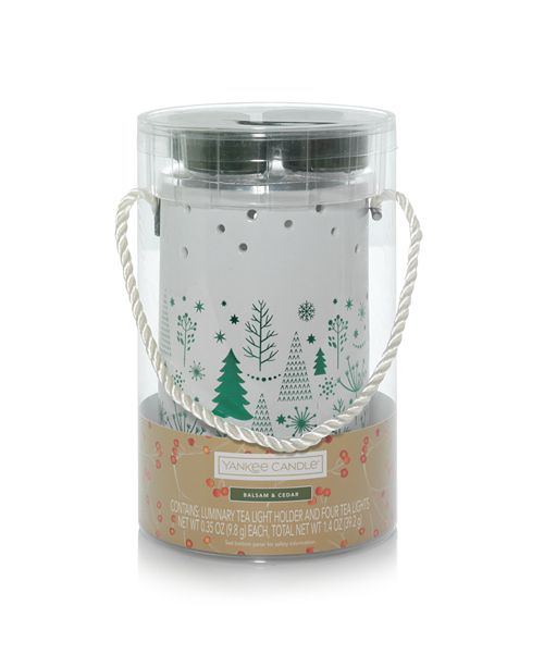 Yankee Candle Holiday Trees Luminary Giftset