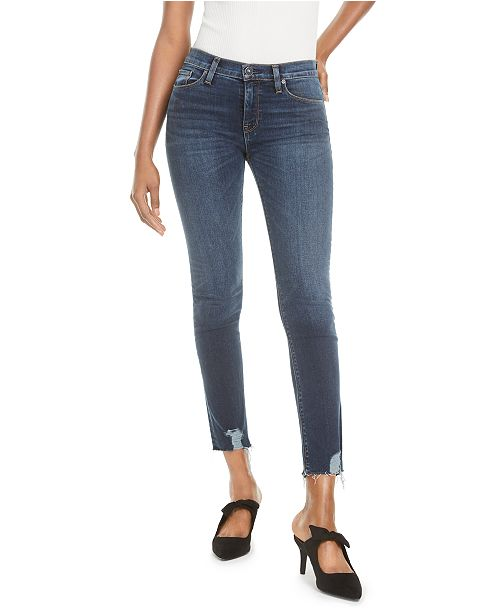 Hudson Jeans Nico Mid-Rise Straight-Leg Jeans