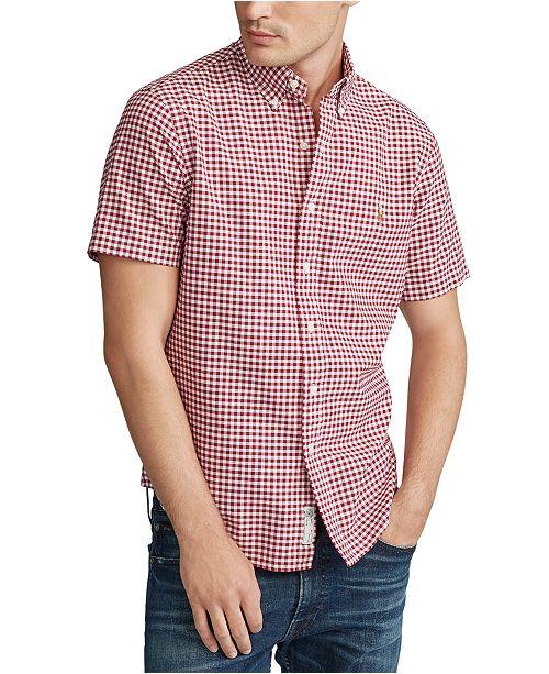 Polo Ralph Lauren Men's Big & Tall Classic Fit Gingham Shirt