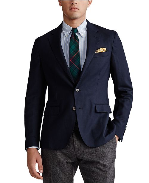 Polo Ralph Lauren Men's Wool Fresco Sportcoat
