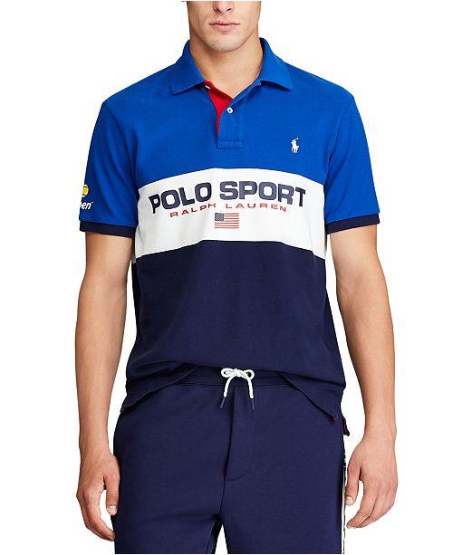 Polo Ralph Lauren Men's US Open Mesh Polo Shirt
