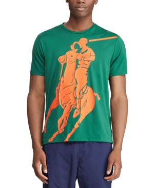 Men's Classic Fit Polo Sport Performance Big Pony T-Shirt in New Forest