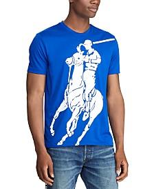 Polo Ralph Lauren Men's Classic Fit Polo Sport Performance Big Pony T-Shirt