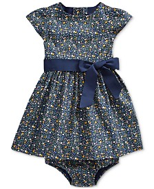 Polo Ralph Lauren Baby Girls Cotton Dress