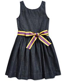 Polo Ralph Lauren Little Girls Fit and Flare Dress