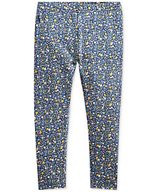 Polo Ralph Lauren Toddler Girls Floral Leggings