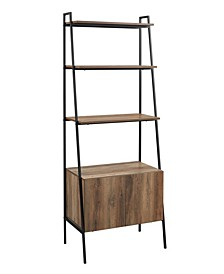 Industrial Modern Ladder Bookcase