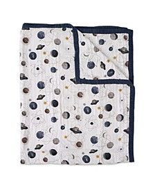 Planetary Cotton Muslin Big Kid Quilt