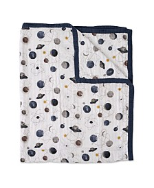 Little Unicorn Planetary Cotton Muslin Big Kid Quilt