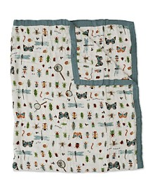 Little Unicorn Bugs Deluxe Muslin Big Kid Quilt