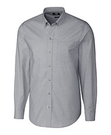 Cutter and Buck Men's Big and Tall Long Sleeves Stretch Oxford Shirt