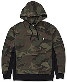 Men's Colorblocked Camouflage Hoodie