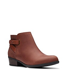 Collection Women's Addiy Gladys Ankle Leather Booties