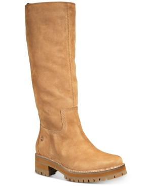 Timberland WOMEN'S COURMAYEUR VALLEY LEATHER BOOTS WOMEN'S SHOES