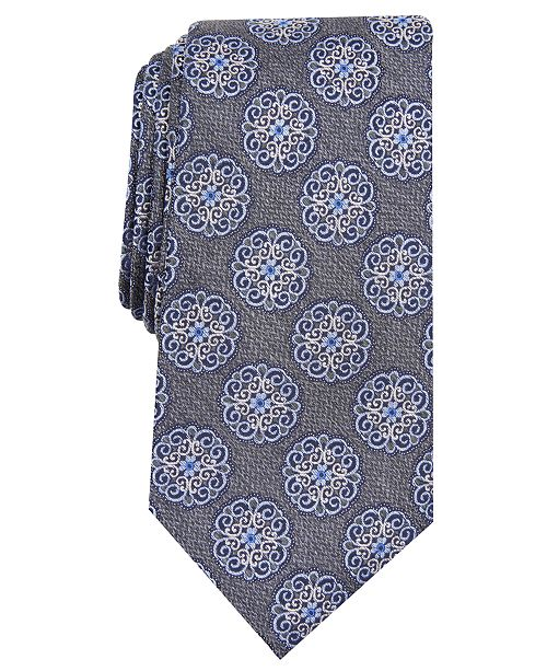 Tasso Elba Men's Classic Medallion Tie, Created for Macy's