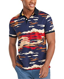 Men's Jones Camouflage Polo Shirt, Created for Macy's