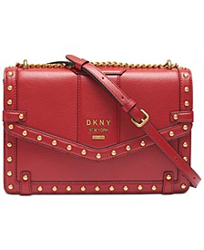 Whitney Studded Shoulder Bag, Created for Macy's