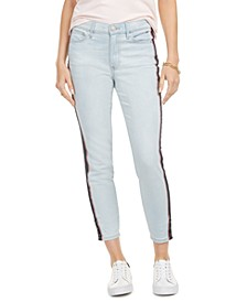 Side-Stripe Skinny Jeans, Created for Macy's
