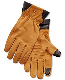 Men's Nubuck Leather Boot Gloves