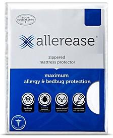 Maximum Waterproof Allergy and Bedbug Zippered Full Mattress Protector