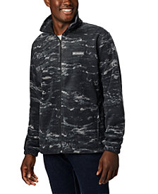 Columbia Men's Printed Steens Fleece Jacket