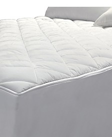 AllerEase 2-in-1 Zippered Mattress Protector and Luxury Full Mattress Pad