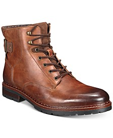 Men's Syd Leather Casual Boots, Created for Macy's