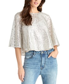RACHEL Rachel Roy Drea Sequined Top