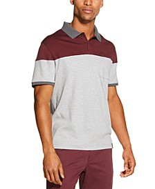 Men's Colorblock Interlock Polo Shirt