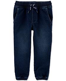 Carter's Toddler Boys Pull-On Denim Jogger Pants